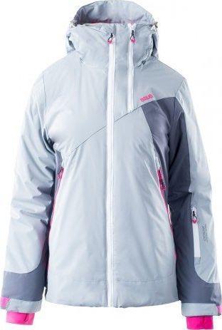 Brugi Kurtka narciarska damska 2AKB SZ7 Light Grey/ Grey/ Pink r. XL