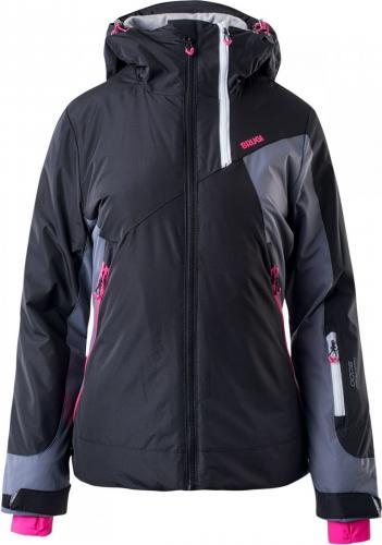 Brugi Kurtka narciarska damska black/grey/pink r. XL (2AKB-SZA)