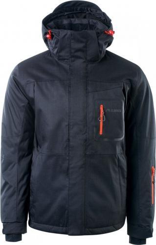 Elbrus Kurtka narciarska Noam Anthracite spicy orange r. L