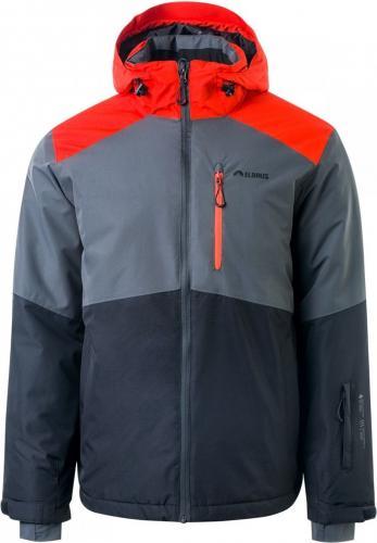 Elbrus Kurtka narciarska męska Bergen Anthracite / Asphalt / Spicy Orange r. XXL