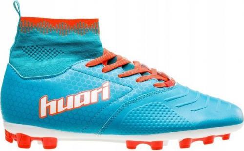 Huari Buty piłkarskie Jay-Jay Teen AG niebiesko-pomarańczowe r. 39
