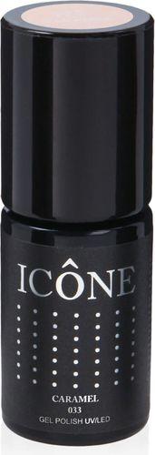 Icone ICONE_Gel Polish UV/LED lakier hybrydowy 033 Carmel 6ml