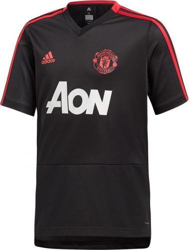 Adidas Koszulka piłkarska Manchester United TR JSY Y czarna r. 176 cm (CW7611)