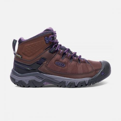 Keen Buty trekkingowe damskie Targhee Exp Mid WP french roast/purple plumeria r. 37.5