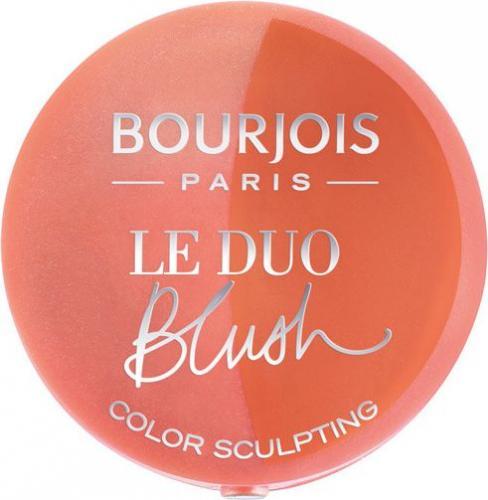 BOURJOIS Paris Le Duo Blush Nr 02 Romeo Et Peachette Róż do policzków 2.4g