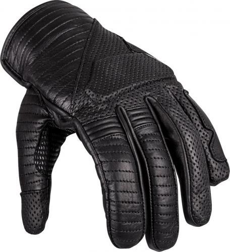 W-TEC Rękawice motocyklowe Skórzane Brillanta czarne r. XL (16740)