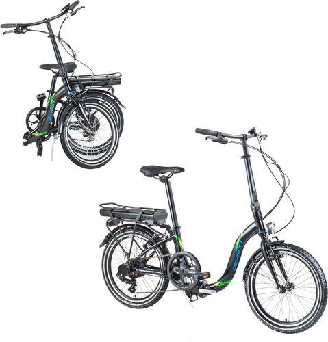 """Devron Składany rower elektryczny Devron 20122 20"""" - model 2017 Kolor Czarny"""
