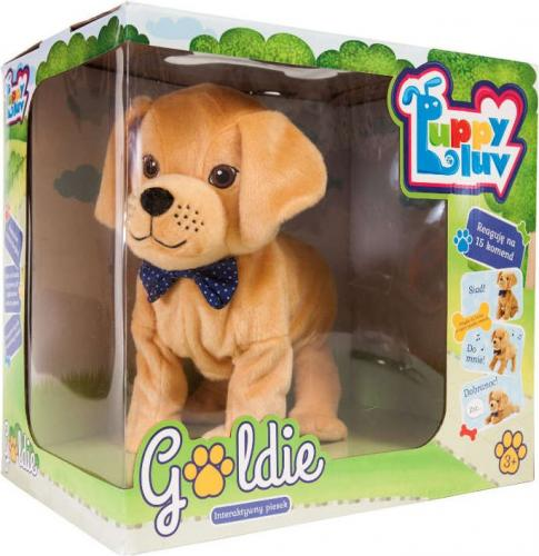 Tm Toys Pies Interaktywny Goldie (DKO8275)