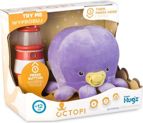 Tm Toys Octopi Ocean Hugzzz Ośmiorniczka + latarnia morska