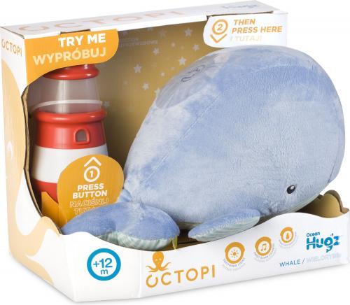 Tm Toys Octopi Ocean Hugzzz Wielorybek + latarnia morska
