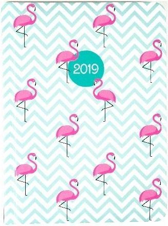 Albi Kalendarz tygodniowy B6 2019 Flamingi