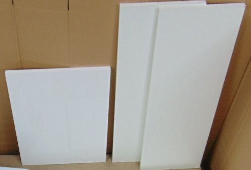 Zestaw szafka z umywalką Sati 40cm biały połysk