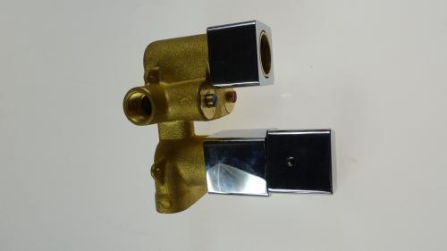 Bateria wannowa podtynkowa Bateria wannowa podtynkowa Omnires Parma biały (PM7436) [outlet]