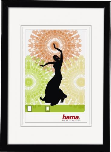 Ramka Hama Ramka na zdjęcie Madrid 21x29.7 czarna (66692)