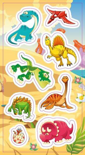 Ranok Naklejki Dinozaury