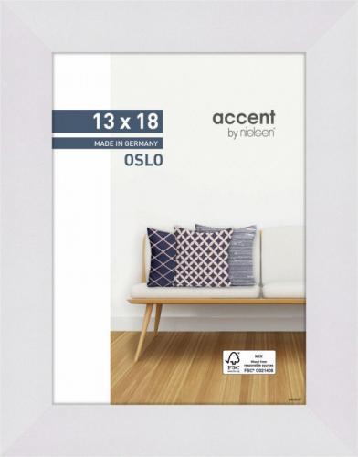 Ramka Nielsen Design Nielsen Accent Oslo 13x18 Wooden Frame white 299267