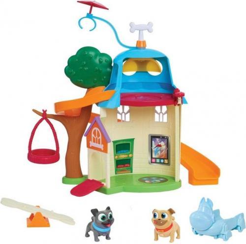 Cobi Puppy Dog Pals - Domek dla psów + 2 figurki (294399)