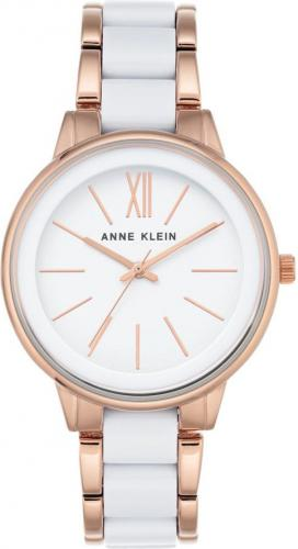 Zegarek Anne Klein Ceramic Rose Gold (AK/1412WTRG)