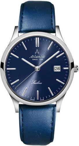 Zegarek Atlantic Męski Sealine 62341.41.51 Szafirowe szkło granatowy