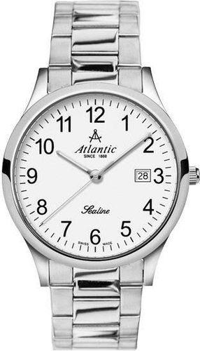 Zegarek Atlantic Męski Sealine 62346.41.13 Szafirowe szkło srebrny