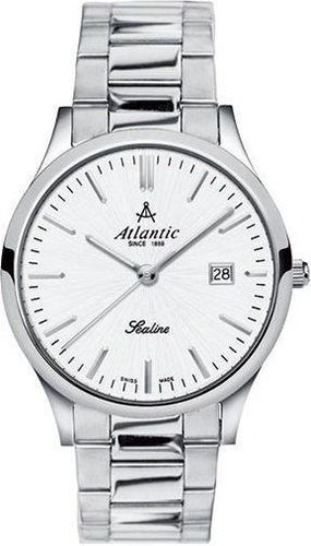 Zegarek Atlantic Damski Sealine 22346.41.21 Szafirowe szkło srebrny