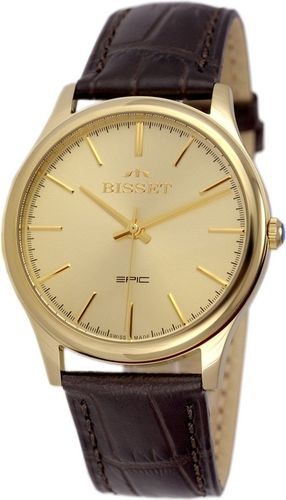 Zegarek Bisset Męski Klasyczny BSCE56 GIGX 05BX czarny