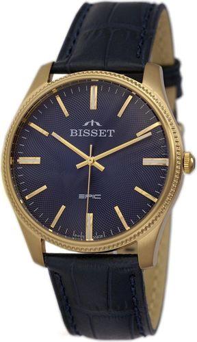 Zegarek Bisset Męski Klasyczny  BSCE55 GIDX 05BX czarny
