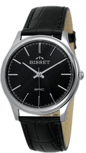 Zegarek Bisset Męski Klasyczny  BSCE56 SIBX 05BX czarny