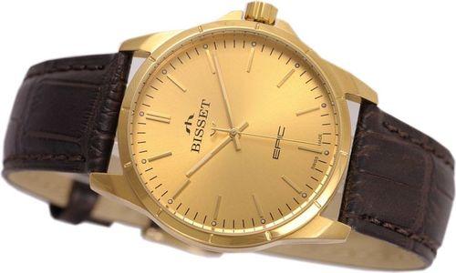 Zegarek Bisset Męski  BSCE35 GIGX 05BX brązowy