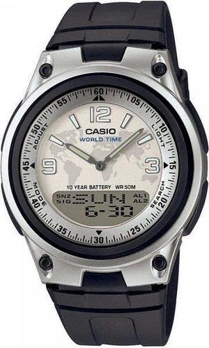 Zegarek Casio Męski AW-80-7A2VEF DataBank czarny