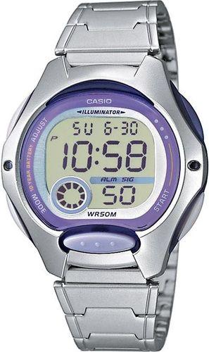 Zegarek Casio Damski LW-200D-6AV srebrny