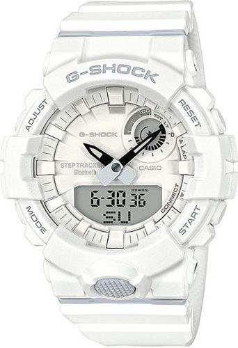 Zegarek Casio Męski G-Shock G-SQUAD GBA-800-7AER Step Tracker biały