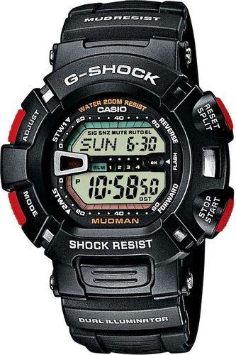Zegarek Casio Męski G-9000-1V G-Shock Mudman czarny