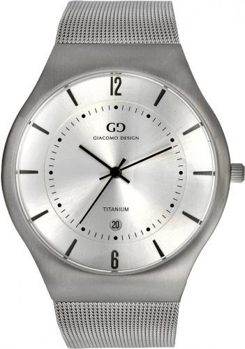Zegarek Giacomo Design Tytanowy Slim (GD12001)