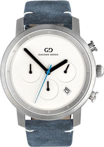 Zegarek Giacomo Design Męski  GD11003 Chronograf niebieski