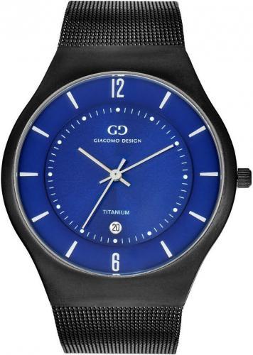 Zegarek Giacomo Design Tytanowy Slim (GD12003)