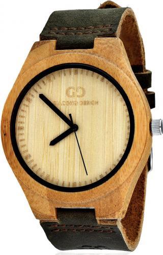 Zegarek Giacomo Design Drewniany Bamboo Wood (GD08001)