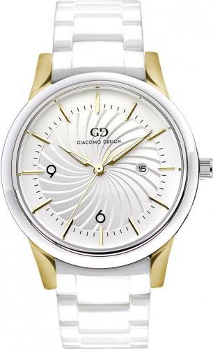 Zegarek Giacomo Design Elegancki ceramiczny (GD10002)