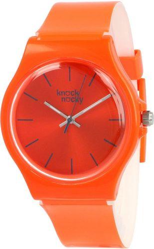 Zegarek Knock Nocky Damski SF3944909 StarFish Lakierowany pomarańczowy