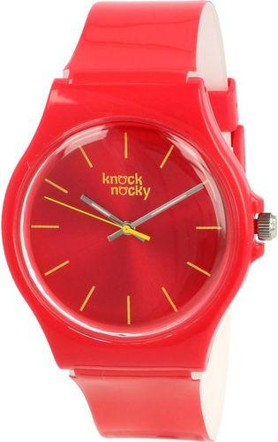 Zegarek Knock Nocky Damski SF3246202 StarFish Lakierowany pomarańczowy