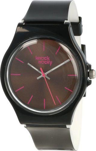 Zegarek Knock Nocky Damski SF3138801 StarFish Lakierowany czarny
