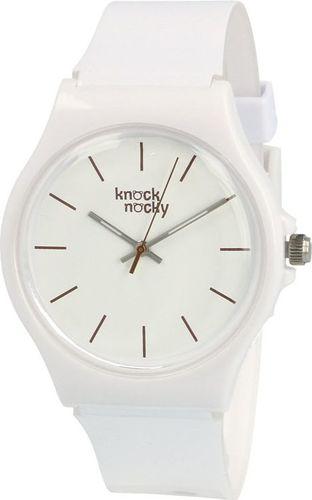 Zegarek Knock Nocky Damski SF3042000 StarFish Lakierowany biały