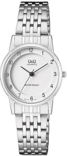 Zegarek Q&Q Damski Klasyczny QA57-204 srebrny