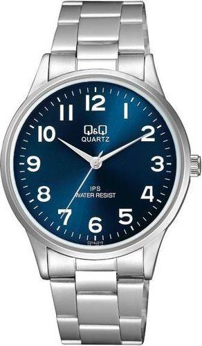 Zegarek Q&Q C214-215 Klasyczny męski srebrny