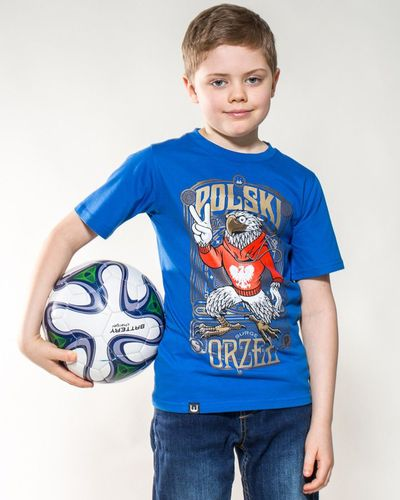 Surge Polonia Koszulka patriotyczna dziecięca Polski Orzeł (CHABROWA) - 14-15 lat