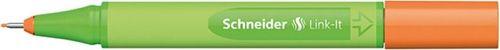 Schneider CIENKOPIS LINK-IT SCHNEIDER 0,4MM POMARAŃCZOWY