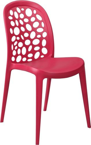 D2 Design Krzesło Bladder czerwone (23818)
