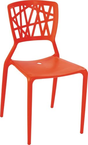 D2 Design Krzesło Bush czerwone (23799)
