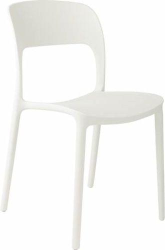 D2 Design Krzesło Flexi białe