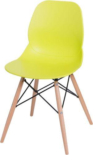 D2 Design Krzesło Layer DSW limonkowe (71053)